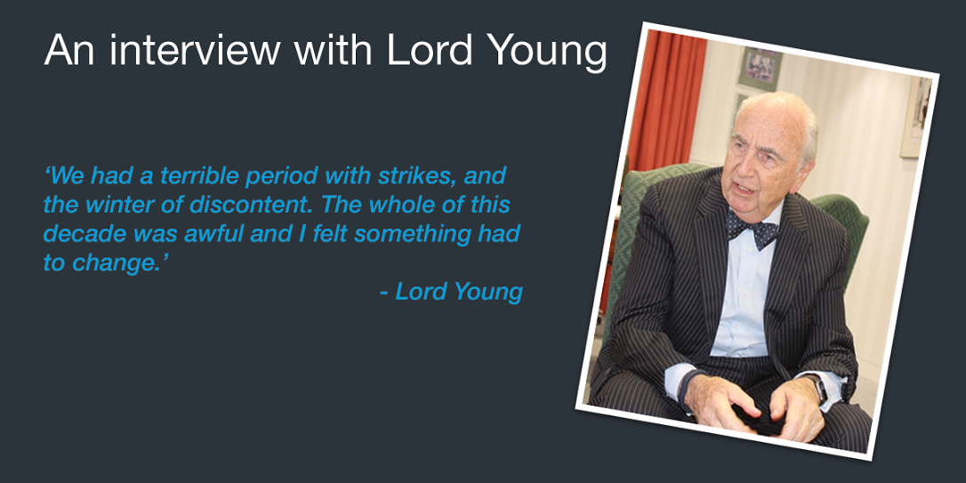 An Interview with Lord Young - Part Two