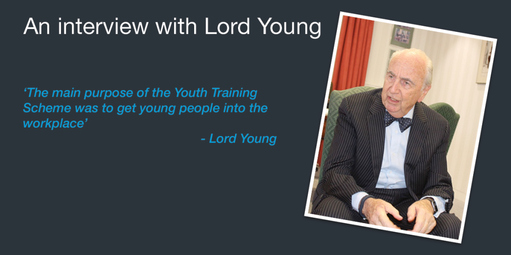 An Interview with Lord Young - Part Three