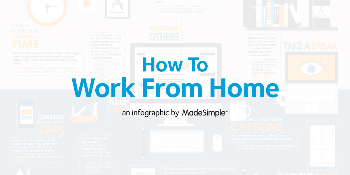 WFH - A Working From Home Infographic
